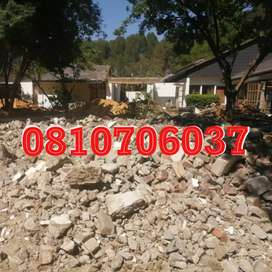 RUBBLE REMOVAL AND SITE MAINTENANCE
