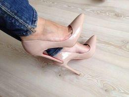 Туфли - лодочки Бежевые черные, розовые, белые Louboutin Дропшиппинг