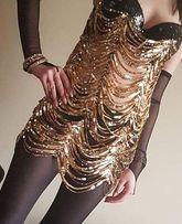 Sukienka wieczorowo - sylwestrowa