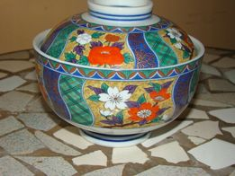 Szkatulka cukiernica japonska porcelana lata 70