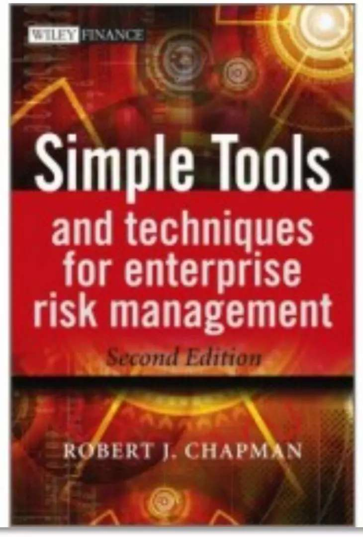 Textbook : Simple Tools and Techniques for Enterprise Risk Management