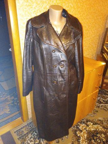 Шкіряний плащ 56розміру Башлыки - изображение 1
