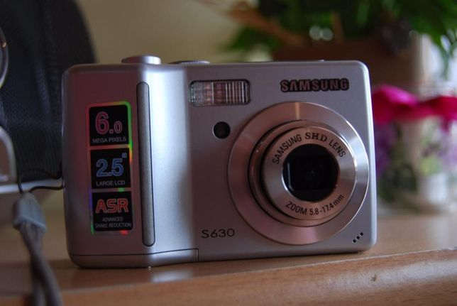 Samsung s630 Aparat fotograficzny JAK NOWY !!! Czempiń - image 5