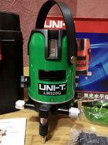 Лазерный уровень (нивелир) UNI-T LM-520 G зеленый лазер
