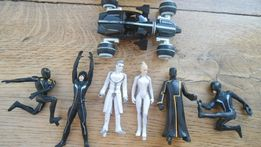 Фигурки, из фильма Трон, Hasbro оригинал, 6шт. + автомобиль