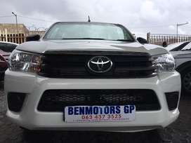 2016 Toyota Hilux Engine 2.4GD6With Canopy