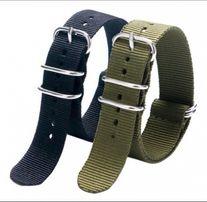 Тактический нейлоновый ремешок для часов, Zulu strap, nato strap