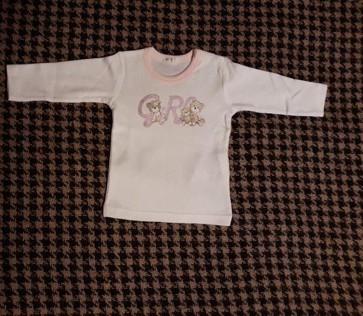 Новый лонгслив Benetton baby 1-3 мес/56 см Іллічівськ - зображення 1