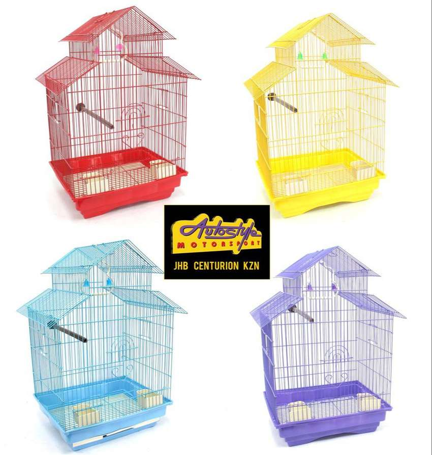 DIY Bird Cage Small 35 x 38 x 53cm R250 Quick and Easy to assemble  Wh 0