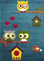 Dywany dziecięce, DYWAN DLA DZIECI, sowy, dużo kolorów i rozmiarów!