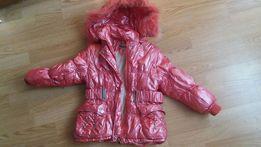 Зимнее пальто куртка пуховик 116 размер