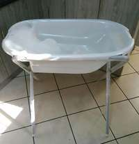 Image of Baby bath with stand