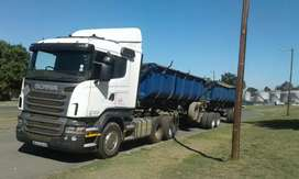 Cash loads for 34ton sidetippers