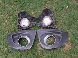2010 MAZDA MAZDA2 FOG LIGHT AND COVERS FOR SALE