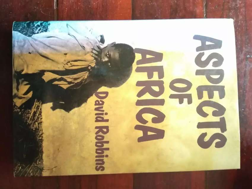 Book for sale on Aspects of Africa 0
