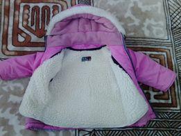 Зимний комбинезон для девочки (1,5-3 года)