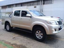 Pre-Owned 2012 Toyota Hilux 3.0 D4D 4X4 LEGEND-40 Double Cab Automatic