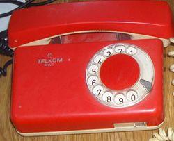 Стационарный, домашний телефон, телефонный аппарат, Телком