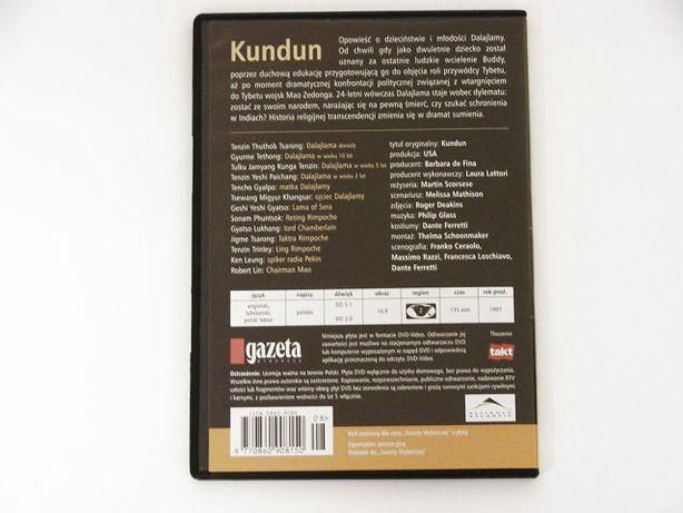 Kundun - życie Dalaj Lamy (1997) FILM DVD Pieszyce - image 2