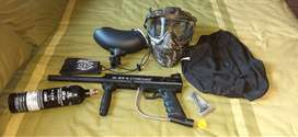 Paintball kit,  only used 3 time, in very good condition