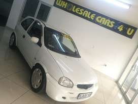 2002 OPEL CORSA LITE 1.4i WITH EXTREMELY LOW KILOS!!!