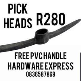 Pick Heads Complete With PVC HANDLE