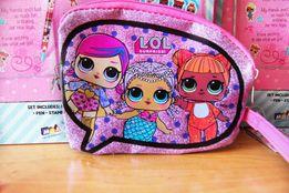 Косметичка L.O.L. surprise Детская сумочка ЛОЛ сюрприз из США