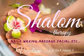 Massages, nails,waxing Facials for male's and females