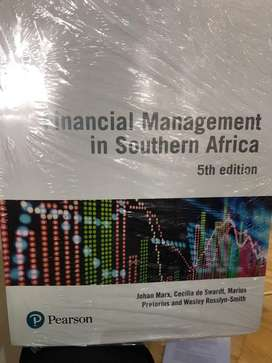 Financial Management in Southern Africa 5th edition