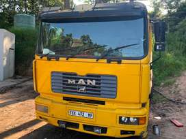 Man 19-414 plus tri axle