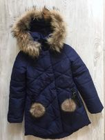 Зимова куртка для дівчинки р.146