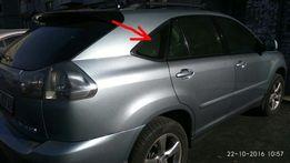 Накладка (молдинг) треугольная на окно Lexus RX