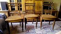 Image of Antique chairs - original chairs from the Matjiesfontein diner