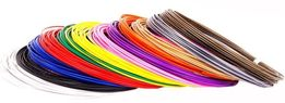 PLA (ПЛА) 6 цв. набор пластик нить, стержень, для 3d ручки, 3д ручки