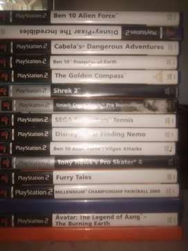 ps 2 games 50$ each