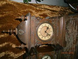 Zegary drewniane kominkowe
