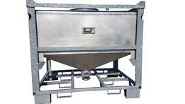 Zbiornik kontener paletopojemnik stal nierdzewna kwasoodporna 800L
