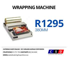 Wrapping Machine 380mm