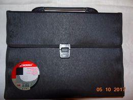 Продам пластиковый портфель для бумаг формата А-4