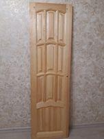 Дверь из дерева, материал сосна