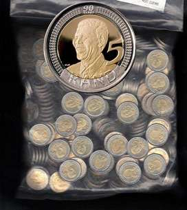 Full sealed Bag of 400 Mandela Coins