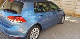 Golf 7, 2014 model with 94000km in a very good condition