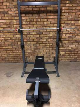 Trojan Bench and Power Rack