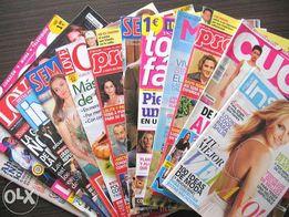 Język hiszpański gazeta kolorowa czasopismo