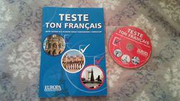 Francuski teste ton français książka testy podręcznik