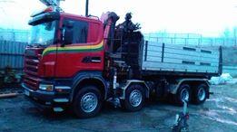Transport - MOCNY HDS, piasek, żwir, kostka,ziemia Przewóz maszyn