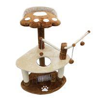 Nowy DRAPAK dla kota /92cm/beżowo-brązowy