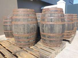Wine and Whiskey Barrels