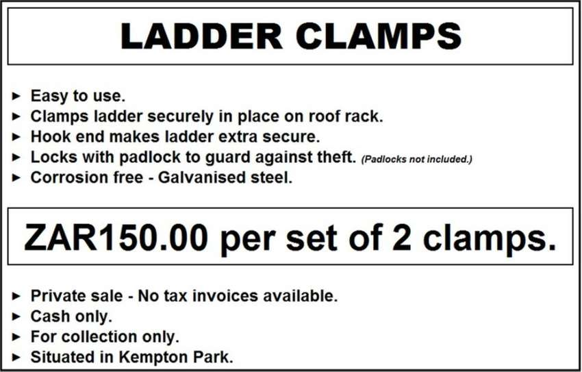 Ladder Clamps 0