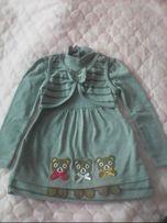 Продам детское трикотажное платье